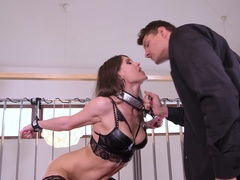 Housewife Cuffed and Fucked