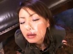 Beautiful Japanese Mom i`d like to fuck bukkake