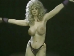 Classic blonde Striptease
