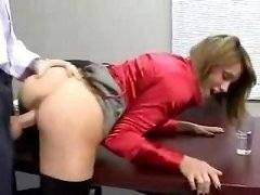 Lydia Lee Getting down and dirty Her Boss For A Salary Raise
