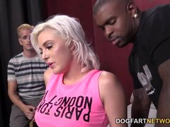 Jenna Ivory Saves Her BF By Taking A Black Cock