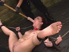 gorgeous redhead fucked with monstrous strapon video movie 1