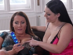 Connect Four: Big Tits Wrapped Around A Strap-on