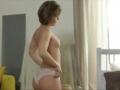 Tiny Czech Cutie Gets Her Orgasm