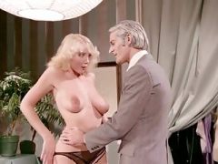 Classic American porn movie with John Leslie and besides Desiree Cousteau