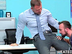 Hunky chief calls over doctor for a ultra-kinky anal exam