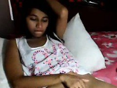 Indian Coed On Live Cam Show Jacking off