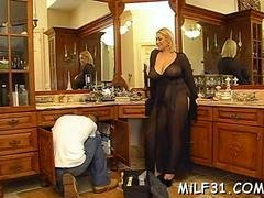 Lucky fella fucks a gal with biggest pair of titties in the world