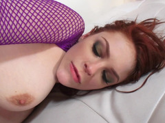 Rectal spreading and furthermore stretching for lesbian Bree Daniels