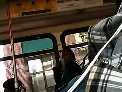 Flashing my bulge on the bus bulto erecto en el bus