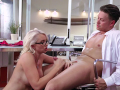 Sex in the hospital by doctor & novel slutty nurse is amazing