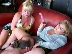 A duo Matures Toy and furthermore Dominate Lad