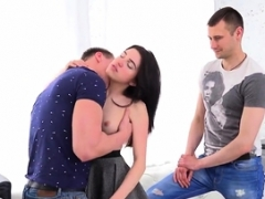 Poor stud lets aroused familiar to drill his gf for money17Qfh