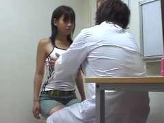 Doctor  tits checkup