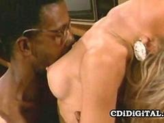 Lauryl Canyon - Blonde Bimbo Rides A Big Black Toy