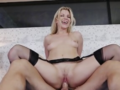 Hot adult star begs for a celebrity internal cumshot! Lascivious America
