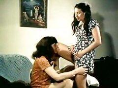 Spring Finlay, Justina Lynn, Kris Ware in classic porn scene