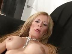 Aged Blonde Latina Gets Fucked