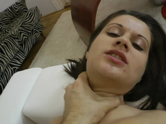 Hungarian kitten makes love in POV with porn legend Rocco Siffredi