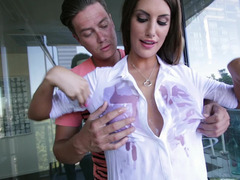 Remarkable dom servises male from the bottom of her heart