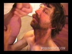 Homemade Vid of Mature Amateur Larry Jerking off