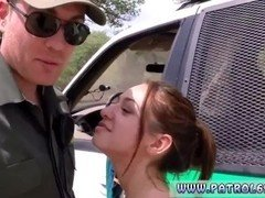 Brianna's police medical exam totally hardcore strip tease and additionally internal cumshot sex
