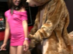 Mind-boggling hen party with Dancing Bear show and also many oral sex