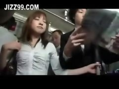 Excited Babe Loves Fucked By Bus Passenger