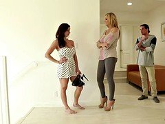 Grown-up woman Kendra Lust with huge bra buddies and furthermore a perfect body seduced by her friend's son