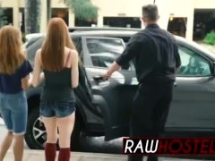 Hot redhead takes a rough ride she�ll never forget