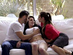 Insane threesome videos with horny babes