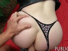 Adorable Eurobabe gets her twat screwed for some money