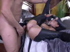 Professional killer can't complete her mission because of gangbang