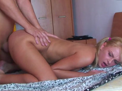 Beautiful immature Russian Ivana Sugar fucked in adorable pigtails