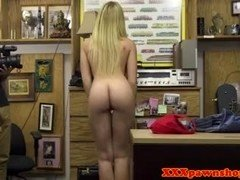 Breasty pawnee pounded by horny pawnbroker