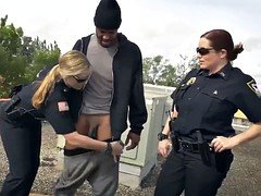 2 blonde cops 1 lad Break-In Attempt Anticipate has to plow his