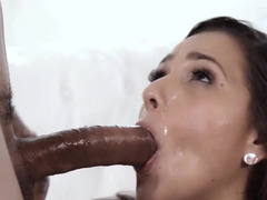 Jaye Summers needs black cock and he fills her pussy