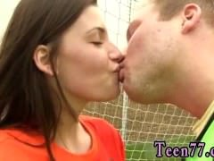 Amateur teen dp Dutch football player