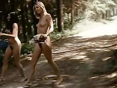 Forest Making love Lesbians
