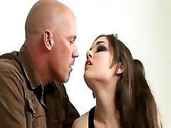 Mark Devis and additionally  Sasha Grey in explicit punishment
