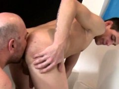 Grown-up euro butthole licking before cumswap