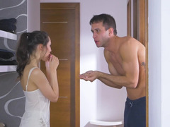 Neighbors resolve noise problem with the help of sex