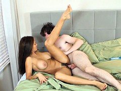 Nice-looking Housewife Likes Sex