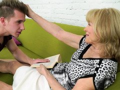 Male has no Exgf that's why he used chance to pal with granny