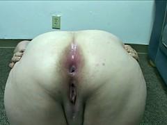 Big Butt Big Tit BBW Housewife Gets Butt Fucked