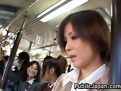Asian Gal Has Public Sex Part1