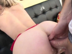 Outstanding sex broad flashes sizeable butt and gets butthole p