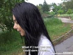 Cute Czech Legal teen Cheated her BF for Cash