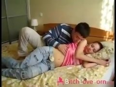Having an intercourse slept sister by BitchLovePorn.com