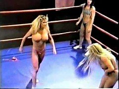 Topless Professional Ring Wrestling